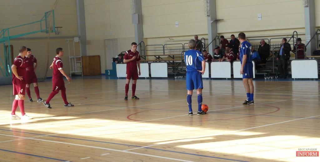 Измаил: финал по мини-футболу