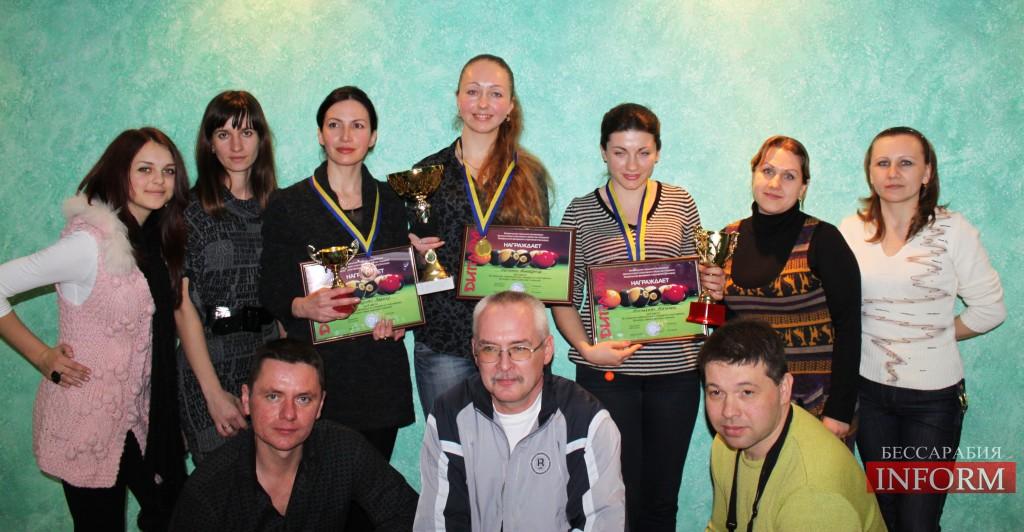 Измаил: турнир по бильярду среди девушек