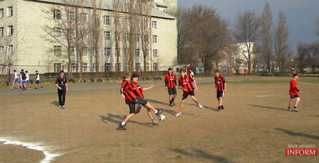 В Измаиле уже стартовал турнир Евро-2012!