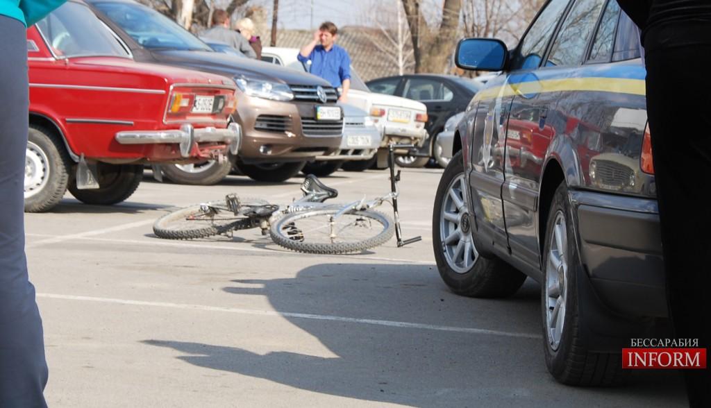 Измаил: ДТП на парковке