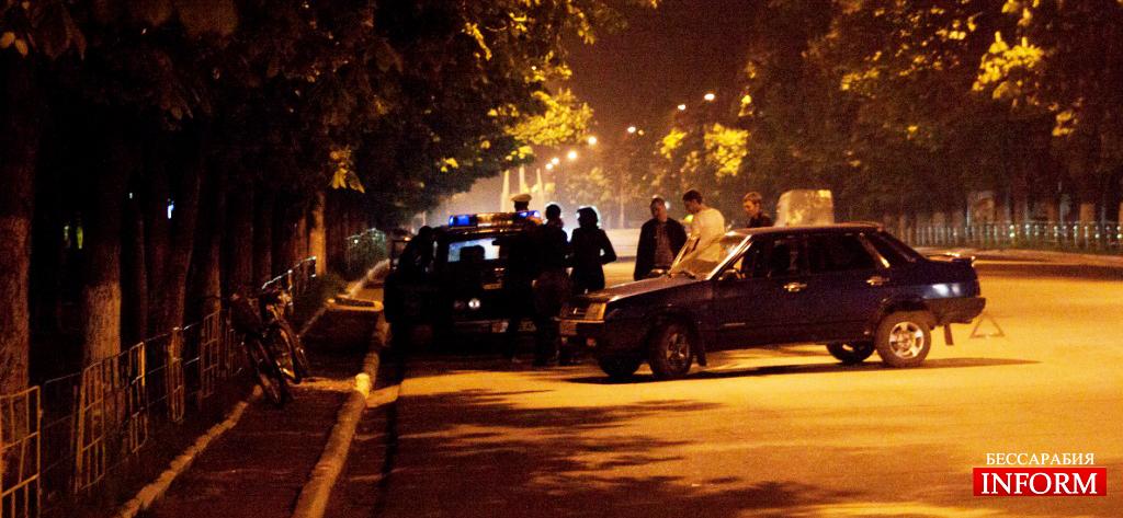В Измаиле пьяные велосипедисты спровоцировали ДТП