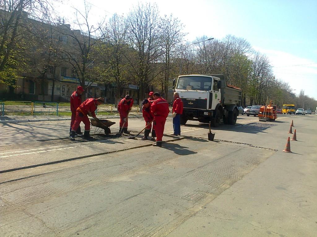 Ремонтные работы в Измаиле на пр. Ленина стали причиной ДТП?