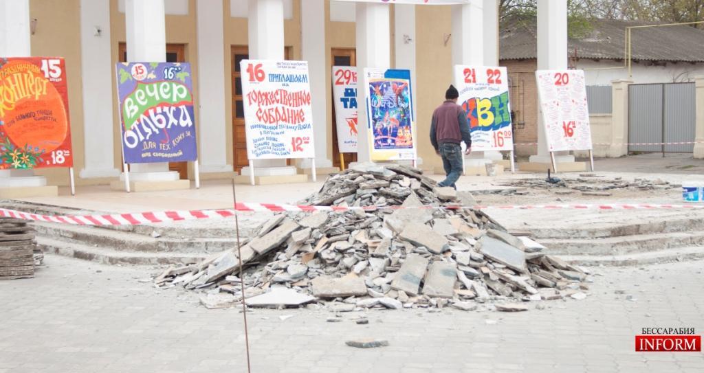 Измаил: сколько бюджетных денег воруется при проведении ремонтных работ?