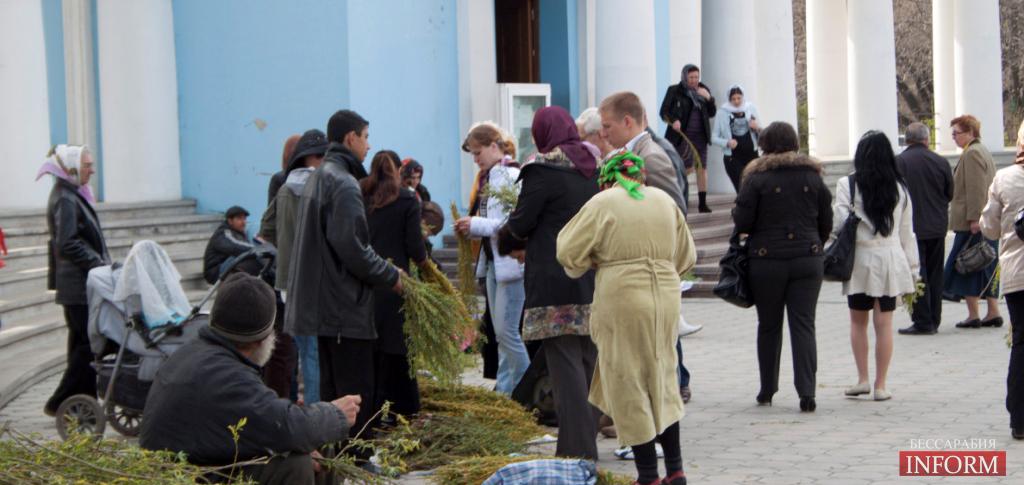 Христиане Бессарабии празднуют Вербное Воскресенье