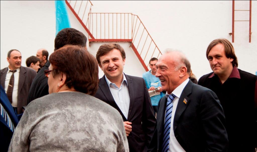 Юрий Крук провел встречу с Измаильчанами (фоторепортаж)