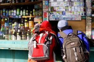 Измаил: выявлены торговые точки, продающие алкоголь и сигареты несовершеннолетним