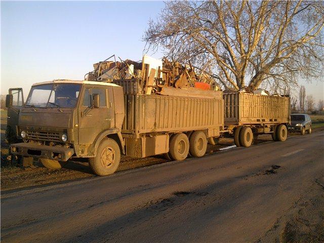 Силами измаильского порганотряда задержан «КамАЗ» с 18 тоннами металлолома (фото)