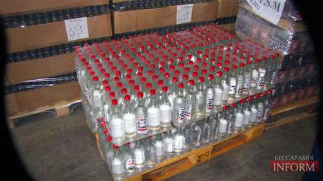 Измаил: налоговая милиция разоблачила изготовителей фальшивой водки