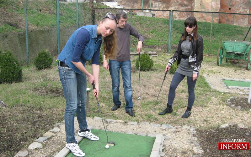 Открыт сезон мини-гольфа!