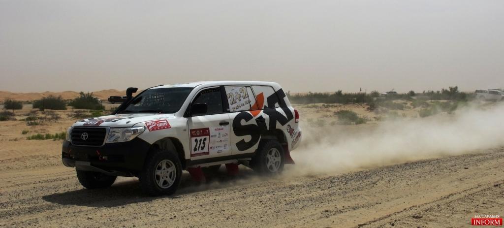 Наши на Кубке Мира в Абу Даби - итог третьего дня ралли - 11 место в абсолюте, третье в категории.
