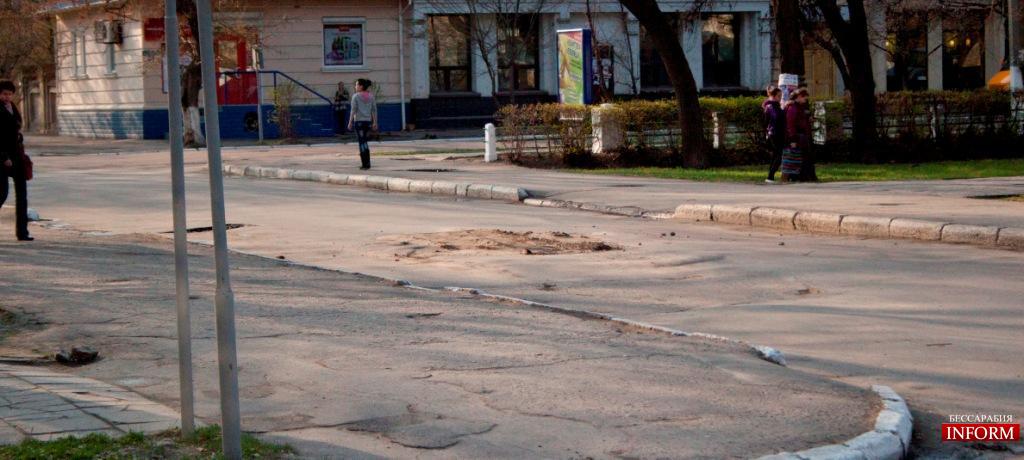Измаил: дорожный беспредел продолжается