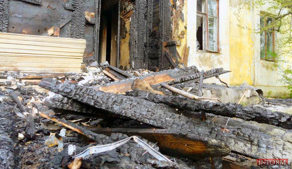 Сегодня в Измаиле в результате пожара погиб человек (ФОТОРЕПОРТАЖ)