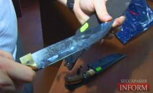 Измаильчанин угрожал ножом продавцу магазина