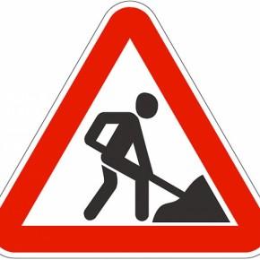 Из-за дорожных работ заблокирована одна из главных дорожных артерий