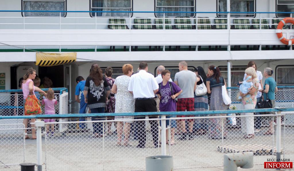 Пассажирской линии на  Дунае — 15 лет
