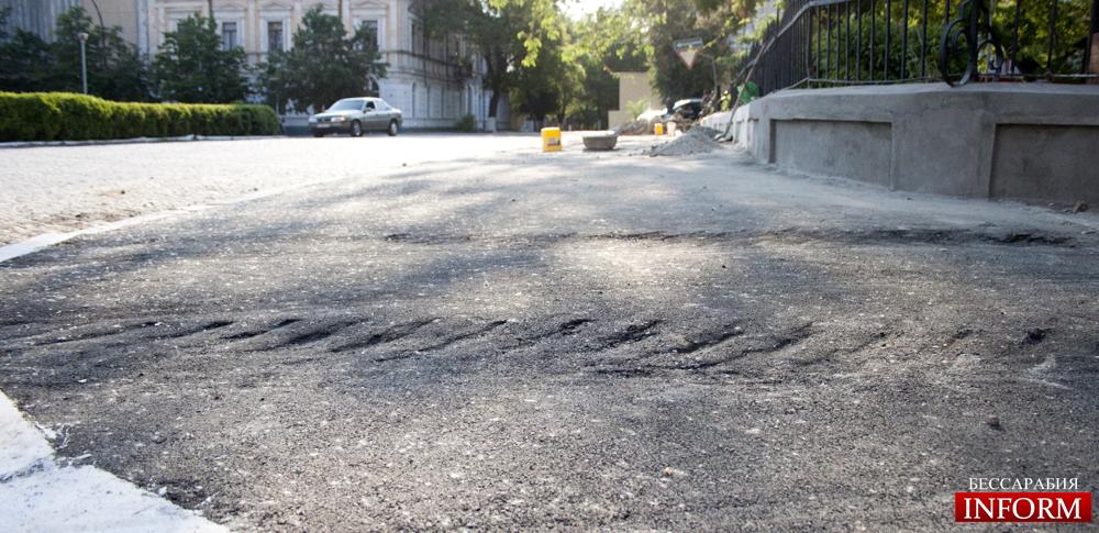 Измаил: шедевры тротуарного ремонта! (ФОТОРЕПОРТАЖ)