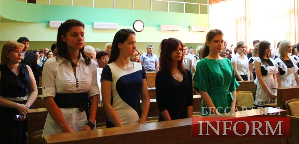 Измаил: Абрамченко поздравил медалистов (ФОТОРЕПОРТАЖ)