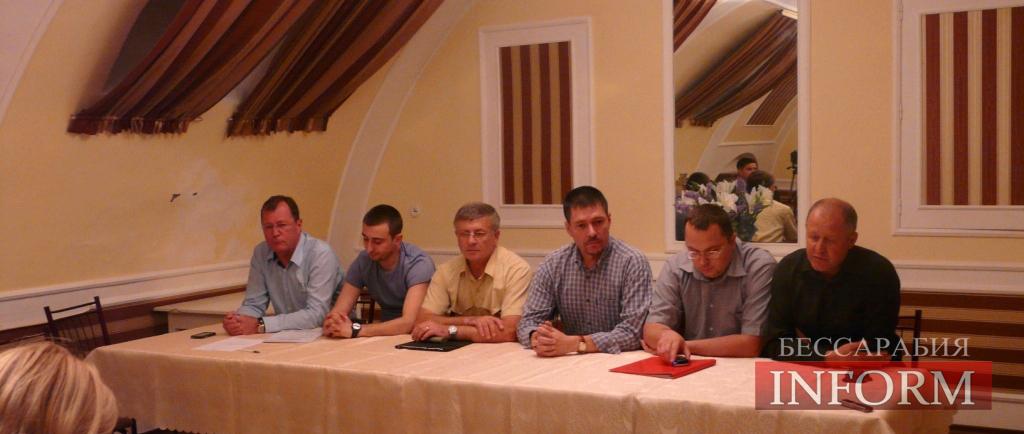 В Измаильском городском совете создана депутатская группа «ЗА Измаил»!