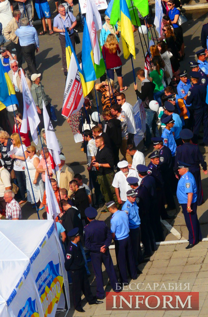 Измаил сказал громкое НЕТ закону о портах! На митинг пришло более 2000 человек