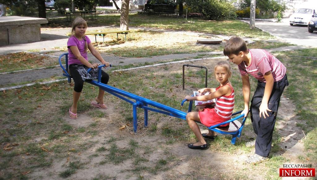 Измаил: Добрые люди мира дарят счастье детям