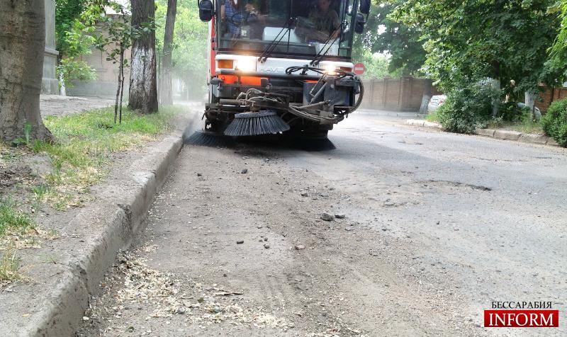 Измаильские улицы вместо ремонта будут подметать? (ФОТОФАКТ)