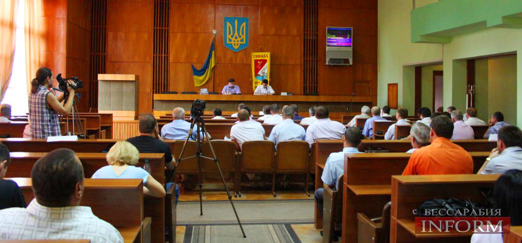 Измаильский горсовет не желает обращаться к Януковичу (ФОТО, обновлено)