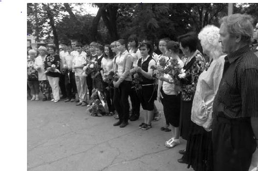 Измаил: в память о Кобзаре прошел митинг