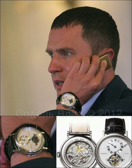 """Предводитель """"тушек"""" в Раде носит на руке часы стоимостью 126 тысяч долларов"""