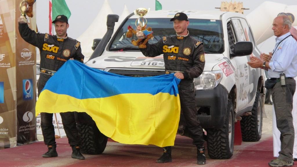 Команда SIXT UKRAINE едет на ралли «Шелковый Путь - 2012»