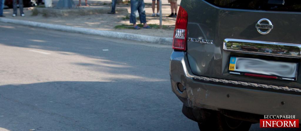 ДТП в Измаиле: ВАЗ протаранил Ниссан