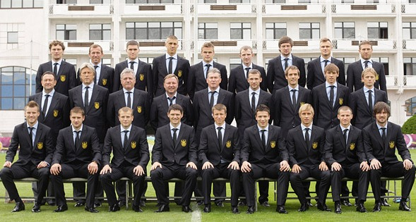 Сборную Украины к Евро - 2012 одели «с иголочки»