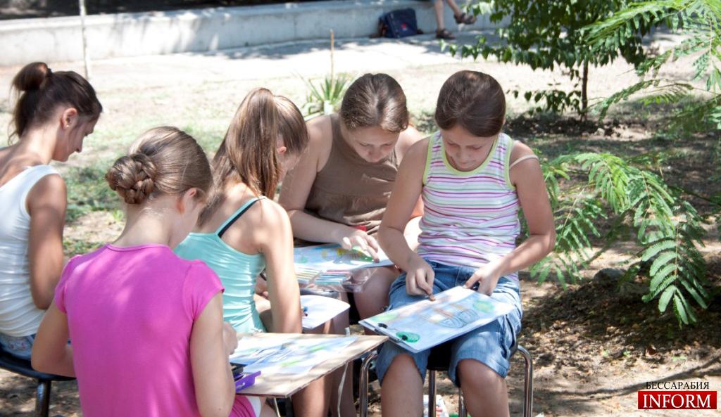 Измаил: Город глазами детей-художников.
