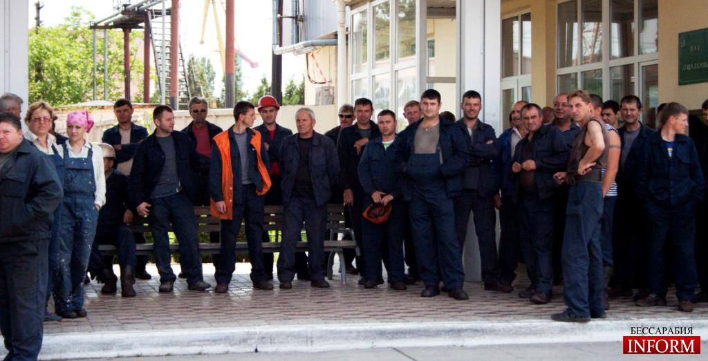 Обращение Александра Дубового к сотрудникам Измаильського порта и к Измаильчанам