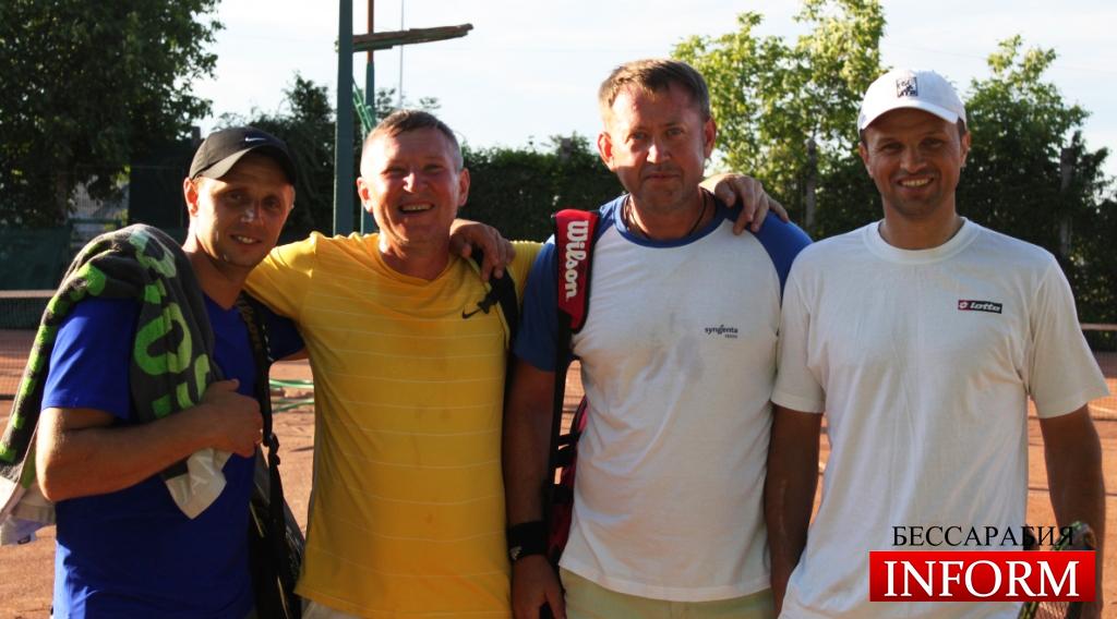 Измаил: Любительская команда по теннису показала профессиональный уровень