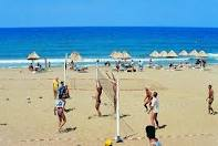 Ильичёвск открыл для себя пляжный волейбол.