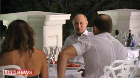 Путин побывал у Медведчука в особняке с фонтанами  (видео)
