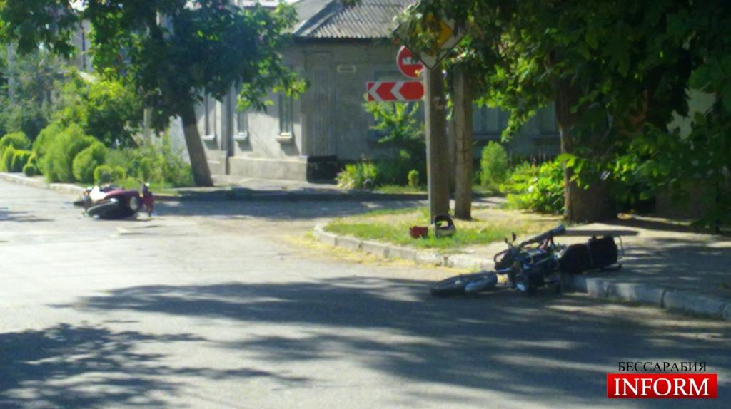 Измаил: Мото ДТП на Комсомольской