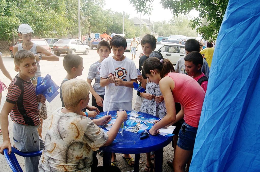 10 В Болградском р не регионалы используют детей для агитации.