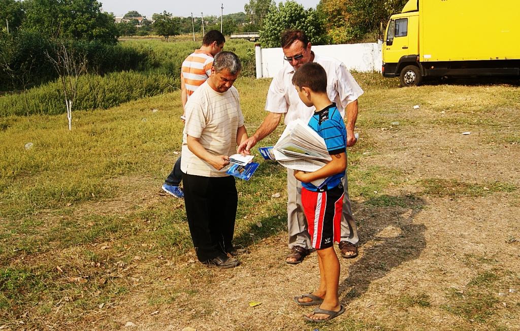 24 В Болградском р не регионалы используют детей для агитации.