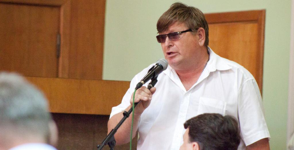 """В.Страшилин: """"Я иду как самовыдвиженец и поддерживаю политику Президента""""."""