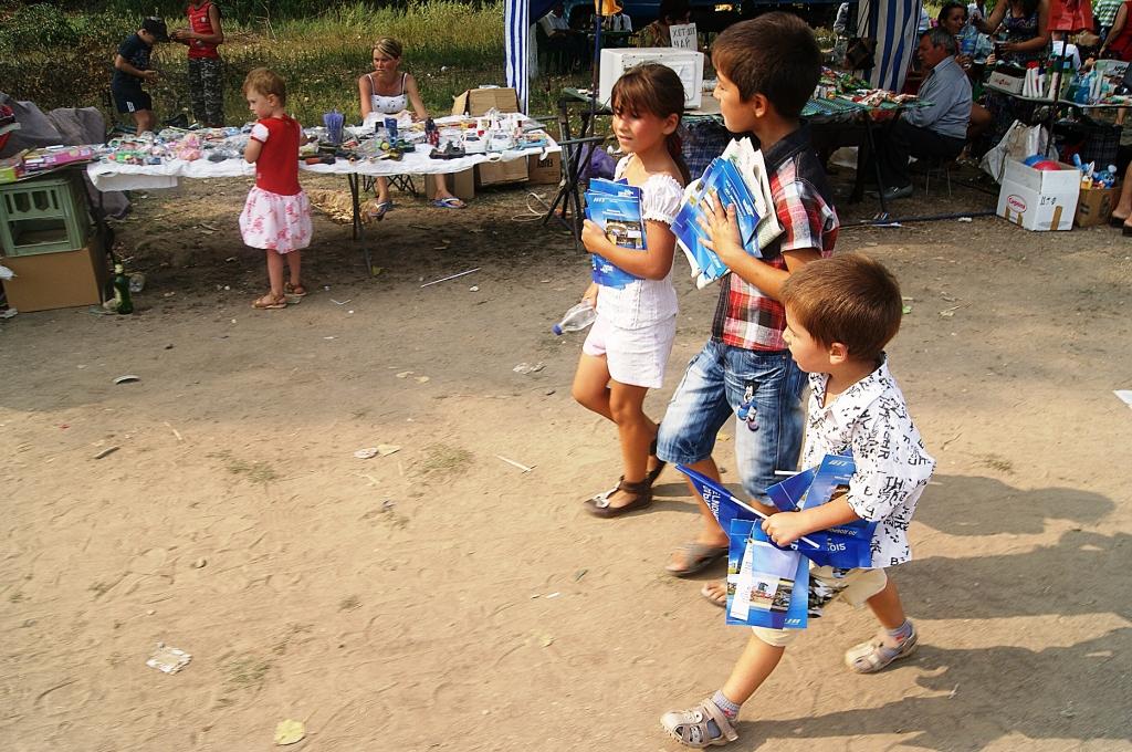 51 В Болградском р не регионалы используют детей для агитации.