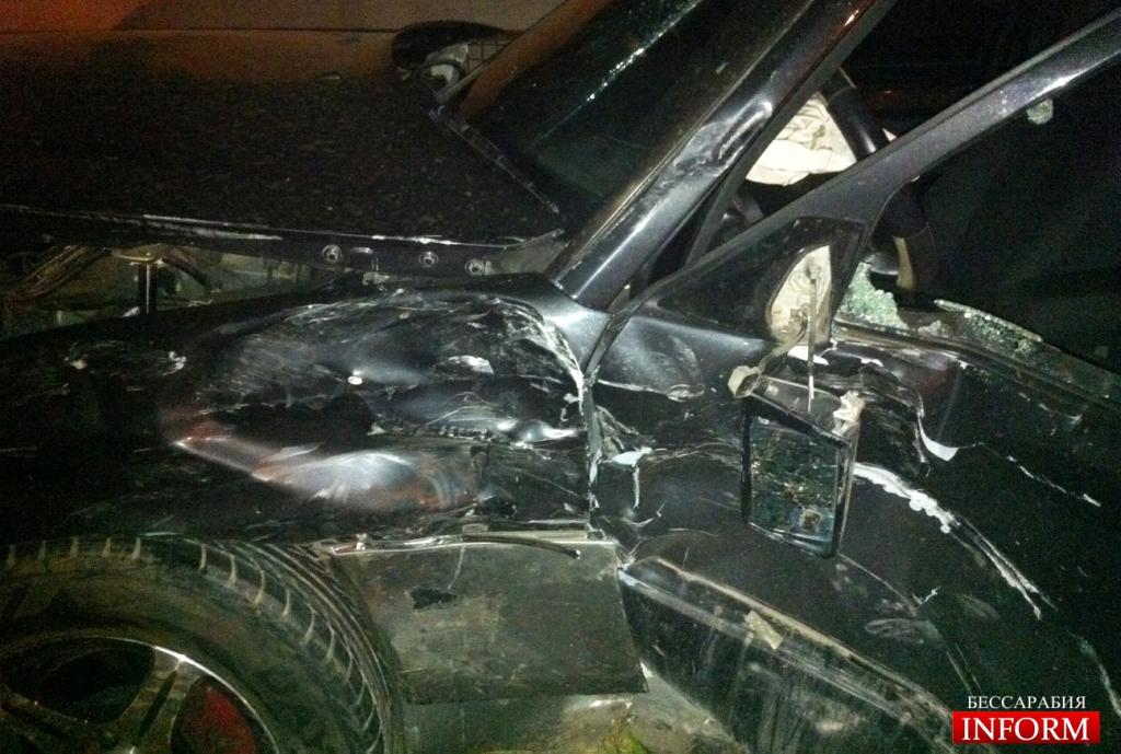 ДТП в Измаиле: Мерседес протаранил Хюндай. ФОТО