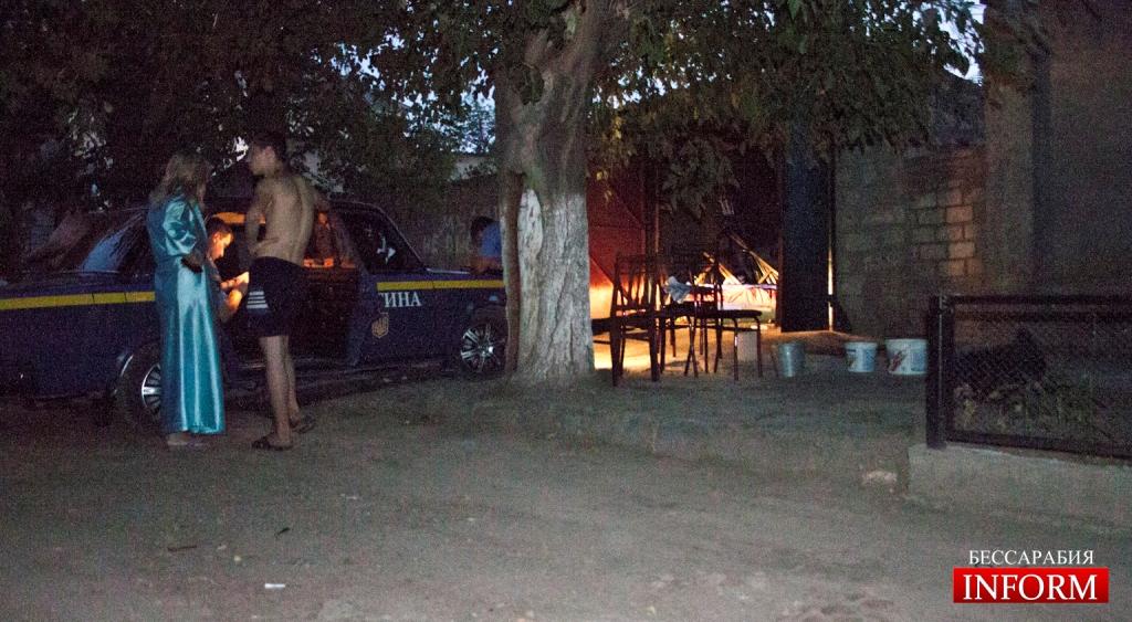 podjog garaja 7 Бандитизм регионалов в Измаиле продолжается. Максиму Волкову подпалили гараж!