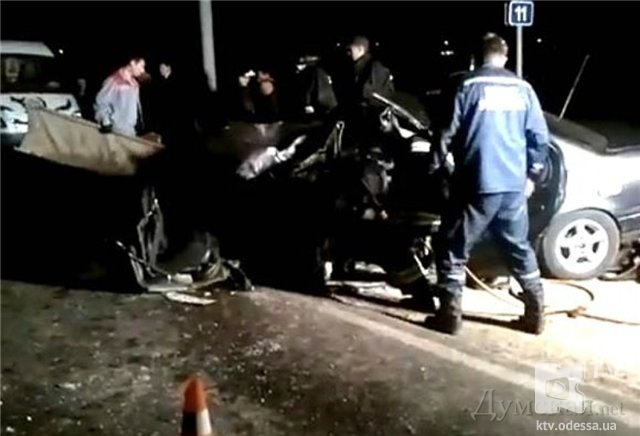 """ДТП на трассе """"Одесса-Ильичевск"""",есть жертвы."""