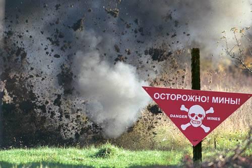 В Ильичевске мужчина с ребенком чудом не подорвались на мине.