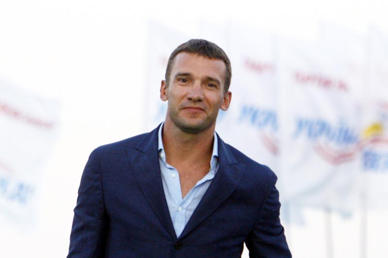 В Измаил Андрей Шевченко едет один, без Натальи Королевской.