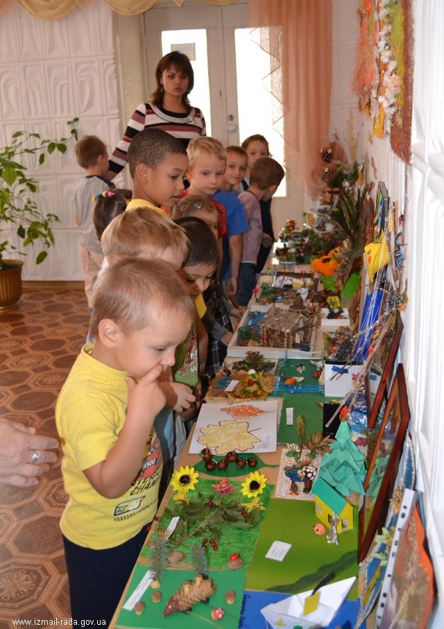 """Измаил: В садике """"Дельфиненок"""" прошла выставка ко Дню Школьника"""