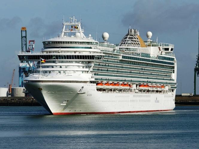 Одесский порт примет последний круизный лайнер-трехтысячник.