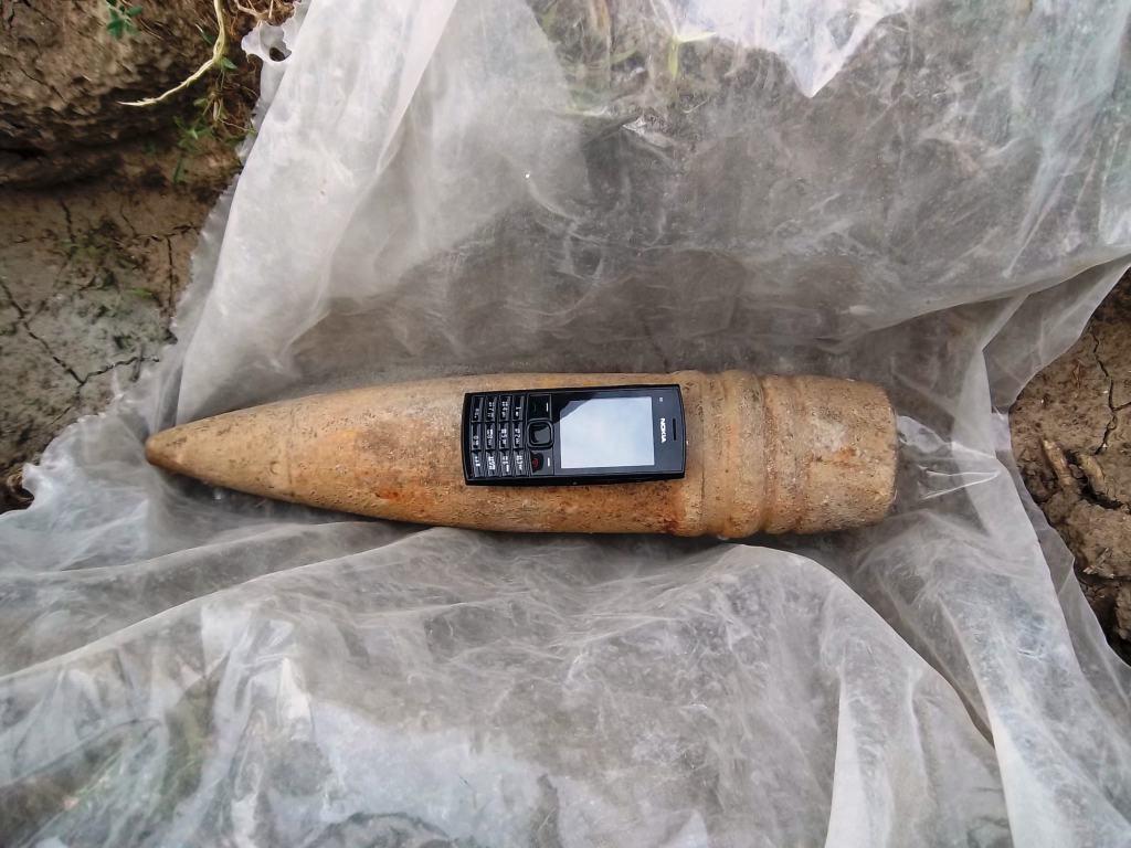 В Измаиле обезврежен артиллерийский снаряд. ФОТО