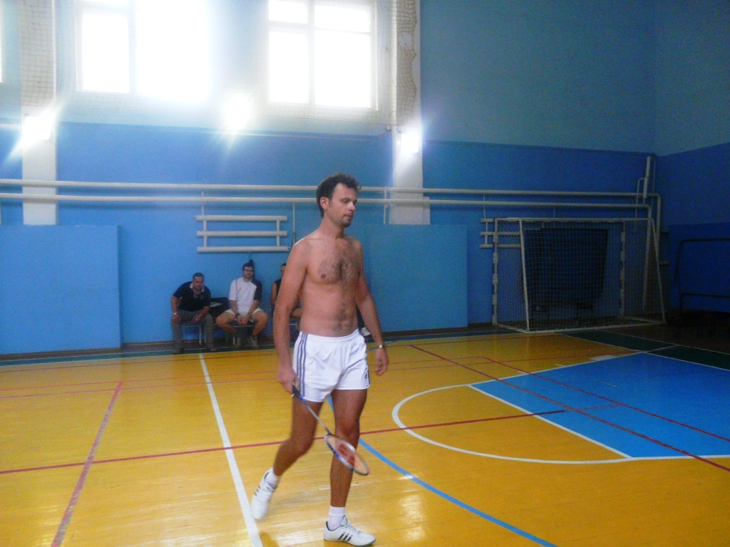 В Измаиле сегодня прошёл турнир по бадминтону.